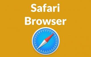 Safari Announces Full 3rd Party Cookie Blocking